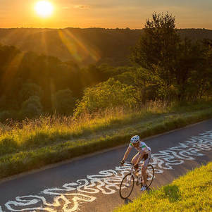 Cycling Box Hill Box hill view point holiday Dorking Cabin Glamping